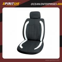 Buy cheap Polyester Black Comfortable Car Interior Accessories , Full Set Luxury Car Seat Cover from wholesalers