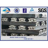 Buy cheap Heavy Plain Steel Crane Rail With Precision rolling Raw material from wholesalers