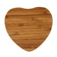 Buy cheap Heart Shape Wooden Wireless Charger , Wood Qi Charger Fast Charging Pad Bamboo Design from wholesalers