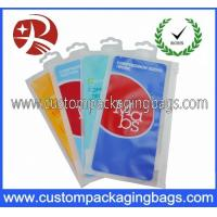 Buy cheap CPE , LDPE , OPP Colorful Printed Plastic Hanger Bags For Stockings from wholesalers