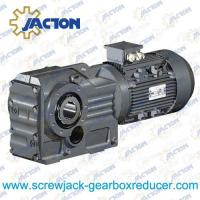 Buy cheap 45KW 55KW 75KW K Series helical gear spiral bevel gear reducer Specifications from wholesalers