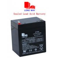 Buy cheap SLA battery manufacturer rechargeable Sealed Lead acid battery 12V5ah from wholesalers