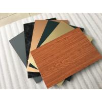 Buy cheap Smooth Surface Facade Aluminium Composite Panel For Wall Cladding Decoration product