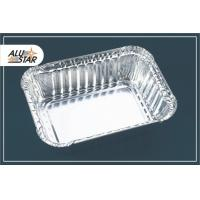Buy cheap High quality rectangular aluminum foil container from wholesalers