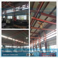 Buy cheap Free Standing Work Station Type Monorail Overhead Crane , Ceiling Mounted Monorail Crane System from wholesalers