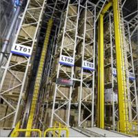 Buy cheap Roboticized Industrial Warehouse Racking Systems Heavy Duty ASRS System from wholesalers