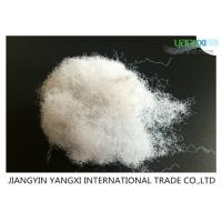 Low Defect Rates Non Woven Polyester Fiber 80D X 64MM For Insulation Panels