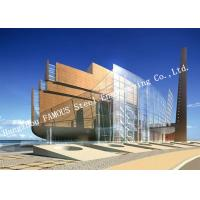 Buy cheap Aluminum Framed Double Layer Glass Curtain Wall for Heat Insulation Steel Structure Building System from wholesalers