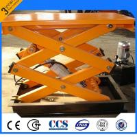 Buy cheap Multifunctional Electric Scissor Lift With Fixed Hydraulic Lift Table from wholesalers