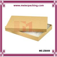 Buy cheap Cotton Filled Kraft Color Jewelry Gift and Retail Paper Boxes ME-ZB009 from wholesalers