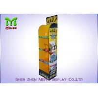 Buy cheap B flute 4 shelves Pop Custom Cardboard Displays , Carton Display Stand for Dogs And Cats from wholesalers