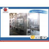 High Accuracy Sugar Fruit Juice Filling Machine Large Filling Scope 10000bph