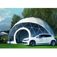 Buy cheap Portable Economical Half Sphere Geodesic Dome Tent Fire Resistant With Decoration from wholesalers