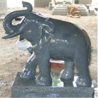 Buy cheap Granite Elephant Sculptures (fy84) from wholesalers
