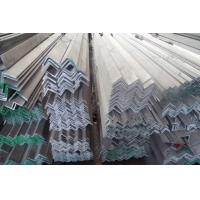 Buy cheap AISI ASTM 304 Hot Rolled Stainless Steel Angle Bars For Vehicles , Construction from wholesalers