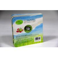 Buy cheap 4/4C CMYK Full Color Custom Board Book Printing Non-toxic With Toys from wholesalers