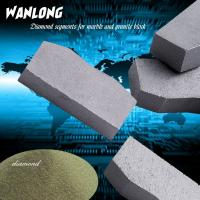 Buy cheap WANLONG diamond segment for stone grinding and cutting ,diamond cup wheel grinding segment grinding stone and concrete from wholesalers