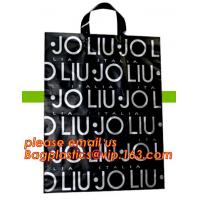 Buy cheap Wholesale reusable biodegradable luxury die d u cut handle cart non woven gift shopping bags with logo bagplastics bagea from wholesalers
