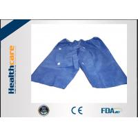 Buy cheap Soft Nonwoven Colonoscopy Disposable Patient Exam Gowns With Hook And Loop from wholesalers