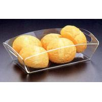 China Modern Factory Sell Clear Acrylic Serving Trays Wholesale,Cafeteria Service Trays,Perspex Serving Tray on sale