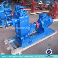 Buy cheap ZW self-priming non-clogging sewage pump from wholesalers