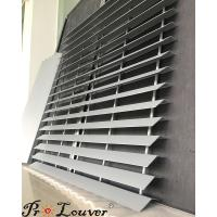 Buy cheap Exterior louver, Privacy Louver Screen, Aluminum panel louver from wholesalers