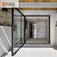 Buy cheap Outward Opening Entry Pivot Doors Thermal Insulated Aluminum Frame modern pivot door Pivot front door from wholesalers