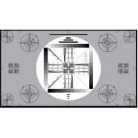 Quality 3nh TE117 A REFLECTANCE HDTV cameras UNIVERSAL TEST CHART 16:9 for testing 4:3 for sale