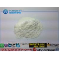 Buy cheap Stanozolol Raw Steroid Powder Legit Winstrol Oral Anabolic Muscle Gains Supplements from wholesalers