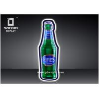 Buy cheap EFES Bar Bottle Display Wall mounted Display, High quailty Light Source from wholesalers