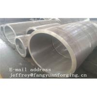 Buy cheap Rolled Forged Sleeves Max Length 1240 mm  4140 42CrMo4 34CrNiMo6 Heat Treatment And Rough Machined from wholesalers