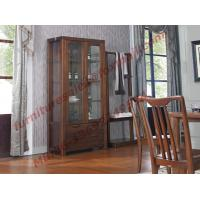 Buy cheap Solid wooden with Glass Door Sideboards for Wine Cabinet in Dining Room product