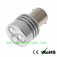 Buy cheap 1156 3W 3*1W HI POWER LED TURN SIGNAL 3 SMD 3SMD 12V REAR/TAIL LIGHT BULB from wholesalers