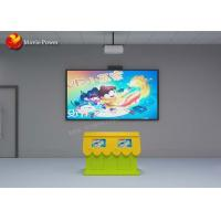 Buy cheap Interactive Projection System Children Painting Fish Game Simulator FRP + Steel Material from wholesalers