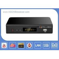 Buy cheap Azamerica Share HD DVB Digital Satellite Receiver For Free To Air Channels from wholesalers