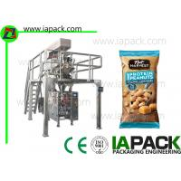 Buy cheap 40g Nuts Polythene Packaging Machine / Automatic Pouch Packing Machine from wholesalers