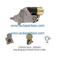Buy cheap 228000-5641, 228000-5640 - IVECO Starter Motor 24V 4.5KW 10T MOTORES DE ARRANQUE from wholesalers