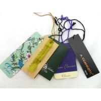 Buy cheap Custom Fashion Design Special Shape Paper Hangtag For Garment from wholesalers