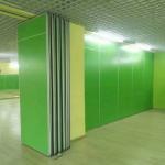 Buy cheap Classroom Sliding Partition Walls / Melamine board Aluminum Folding Door from wholesalers