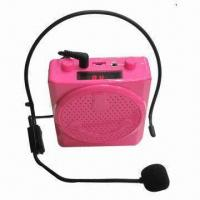 Buy cheap Portable Megaphone Speaker, Supports LCD Display, USB/TF/FM Playing and Reverberation Functions from wholesalers