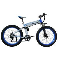 Buy cheap 26 Inch Fat Tyre Electric Folding Bike 7 Speed Multi Color Aluminum Alloy Frame from wholesalers
