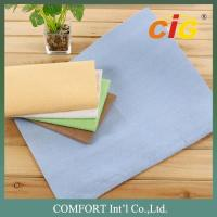 Buy cheap Yellow color two side velvet car clean cloth Fabric 70% Nylon and 30% PU material from wholesalers
