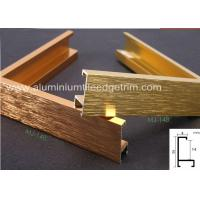 Buy cheap Light Weight Brushed Aluminium Picture FramesGold Color Snap Application from wholesalers