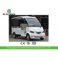 Buy cheap 4kW No Working Noise Electric Cargo Van With 500Kg Payload Cargo Box from wholesalers