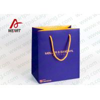 Buy cheap Inside & Outside Custom Printed Personalised Paper Carrier Bags Business Promotional Use from wholesalers