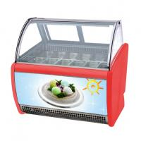 Buy cheap 14 Flavors Ice Cream Display Cabinet Frozen Popsicle Display Showcase from wholesalers