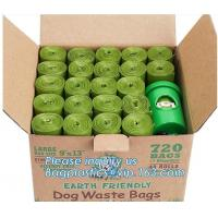 Buy cheap pet poop bag dog waste bag with dispenser, 20 Bags Per Roll Hot Selling Pet Cleaning Products Dog Poop Waste Bags, bagea from wholesalers