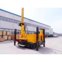Buy cheap Hydraulic Winch Crawler Mounted Water Well Drilling Rig for 90 - 300 mm Big Hole Diameter from wholesalers