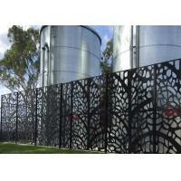 Buy cheap powder coated  decorative laser cut  metal screen     perforated metal from wholesalers