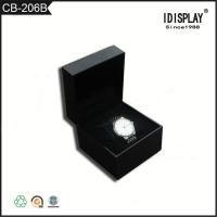 Buy cheap Black Matte Lamination Small Cardboard Gift Boxes Corrugated For Paking Watches from wholesalers